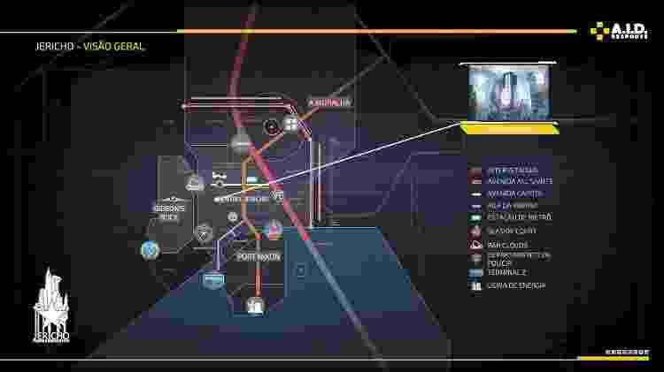 The Surge 2 Mapa - Reprodução - Reprodução