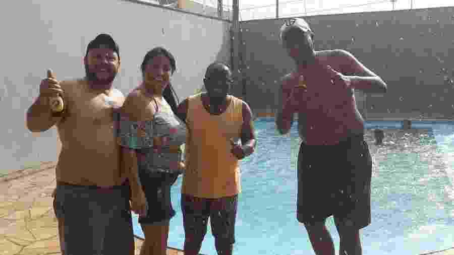 Após preocupar amigos com sumiço, Buiu da Praça tranquiliza seguidores e posta foto curtindo domingo em piscina - Reprodução/Instagram