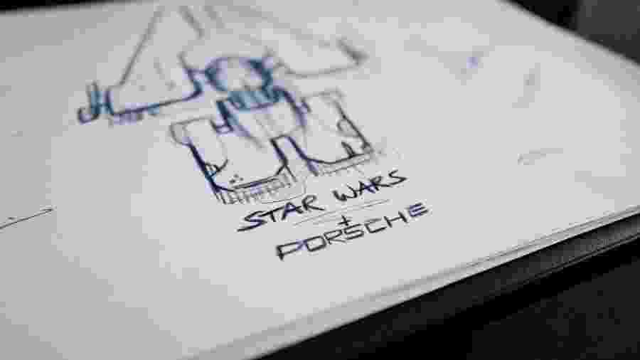 Porsche e Lucasfilm farão nave espacial em parceria - Divulgação