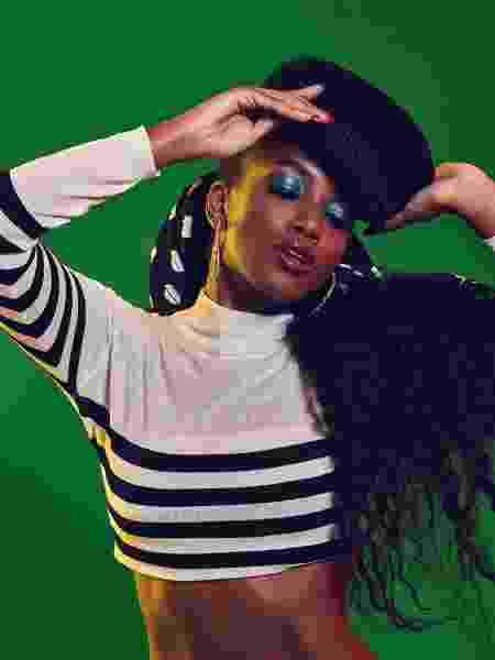 A cantora IZA - Divulgação