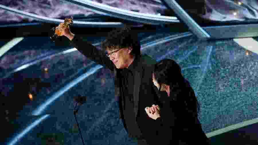 """Bong Joon Ho vence o Oscar 2020 por """"Parasita"""" - Getty Images"""