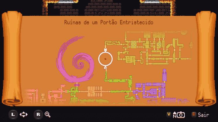 As novas áreas foram incluídas no mapa do game - Reprodução