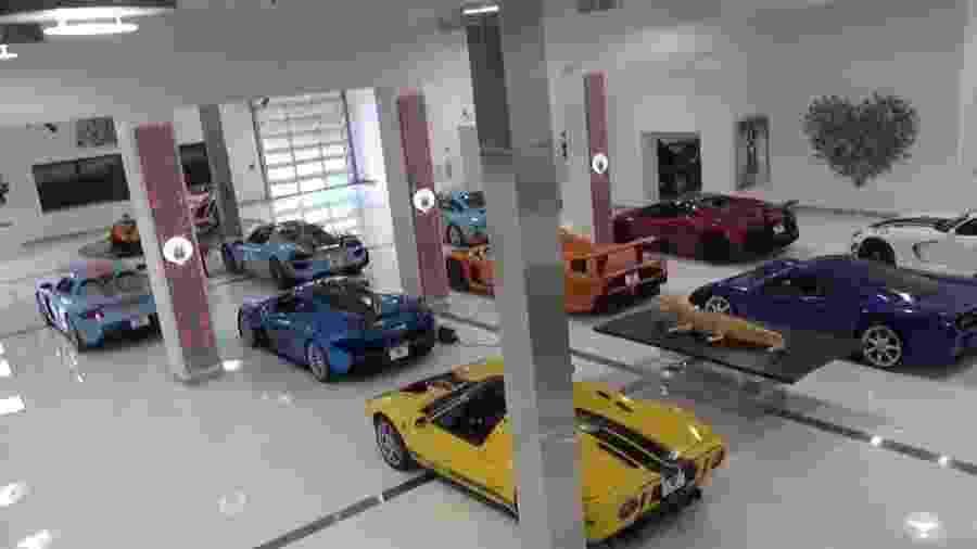 Coleção de carros aberta em Miami - Reprodução