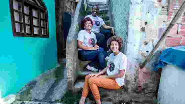Pâmela Lessa (no alto), do projeto Pretas Ruas  - Divulgação/Pretas Ruas  - Divulgação/Pretas Ruas