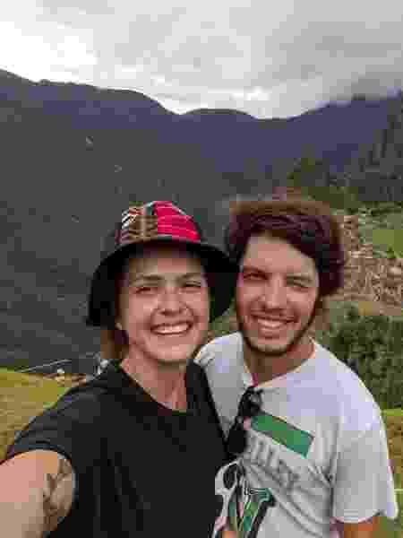 diana e o namorado - Arquivo Pessoal - Arquivo Pessoal