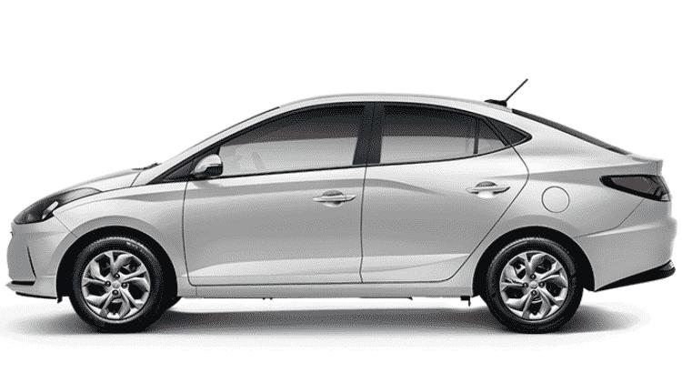 Hyundai HB20S Vision 1.0 aspirado - Divulgação - Divulgação