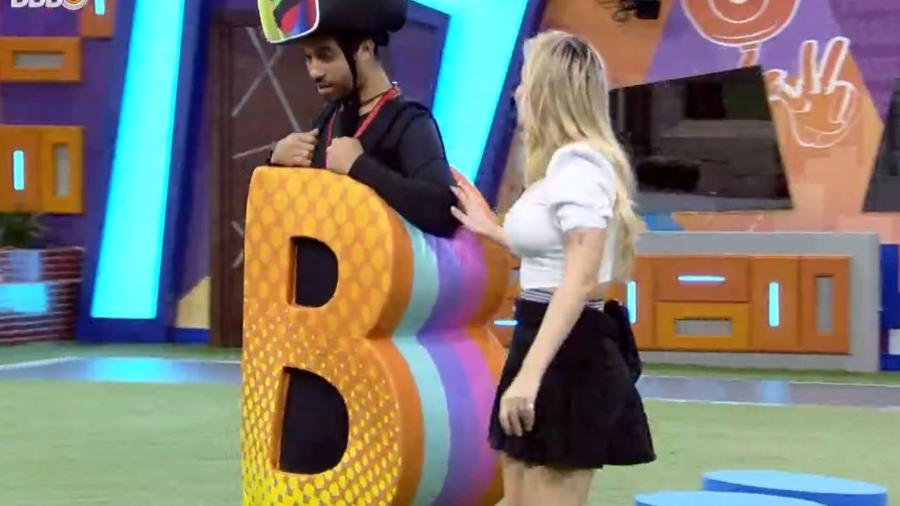 BBB 21: Viih Tube chama Gil para conversar - Reprodução/ Globoplay