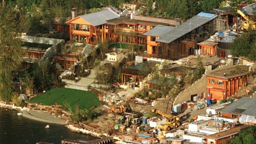 Xanadu 2.0: construção milionária marca divórcio entre o empresário e a ex-esposa, Melinda Gates - Reprodução