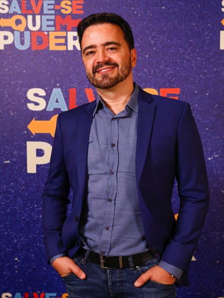 """Daniel Ortiz, autor de """"Salve-Se Quem Puder"""", ralou para escrever os 54 capítulos finais - Reprodução/Globo"""