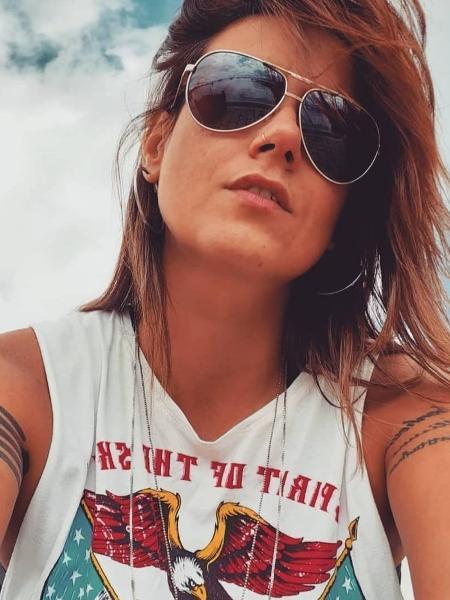 """""""A ideia é justamente não ter homem numa relação lésbica então não nos perguntem isso"""", diz a colunista Angélica Morango - Arquivo pessoal"""