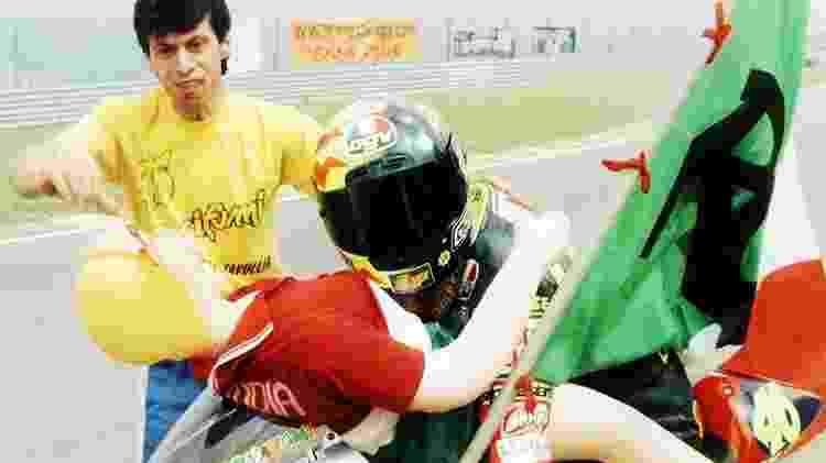 Valentino Rossi boneca inflável - Divulgação - Divulgação