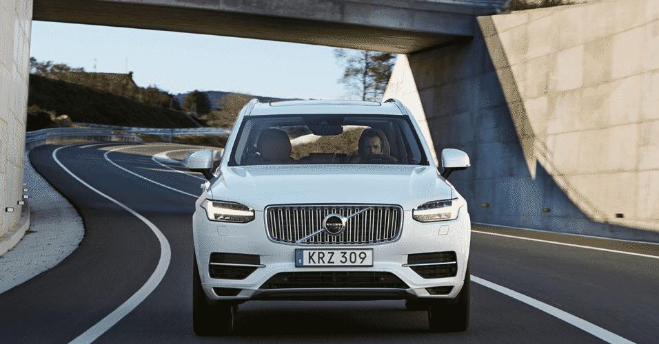 Volvo XC90 Espanha - Divulgação