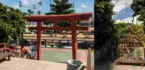 Jardim Japonês, em Fortaleza - Vivian Ortiz/UOL - Vivian Ortiz/UOL