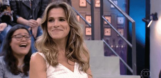 Ingrid Guimarães é surpreendida por rapaz ao ser questionada sobre vibrador - Reprodução/TV Globo