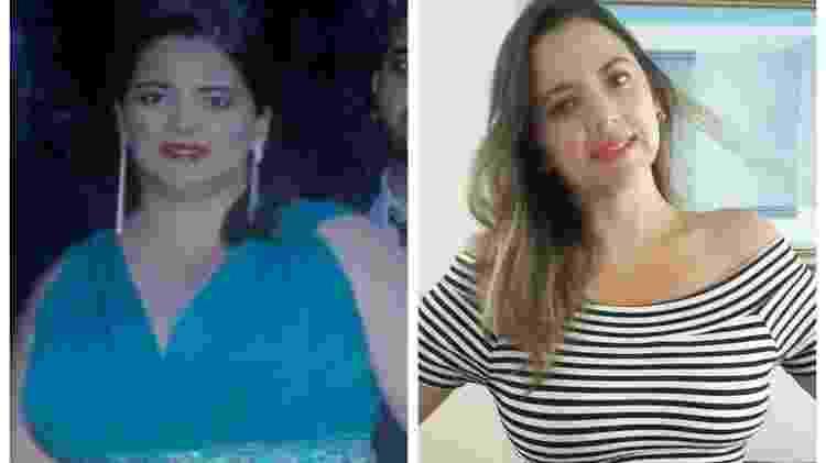 Depois que começou a praticar exercícios, Mayara Oliveira se apaixonou pela musculação - Arquivo Pessoal - Arquivo Pessoal