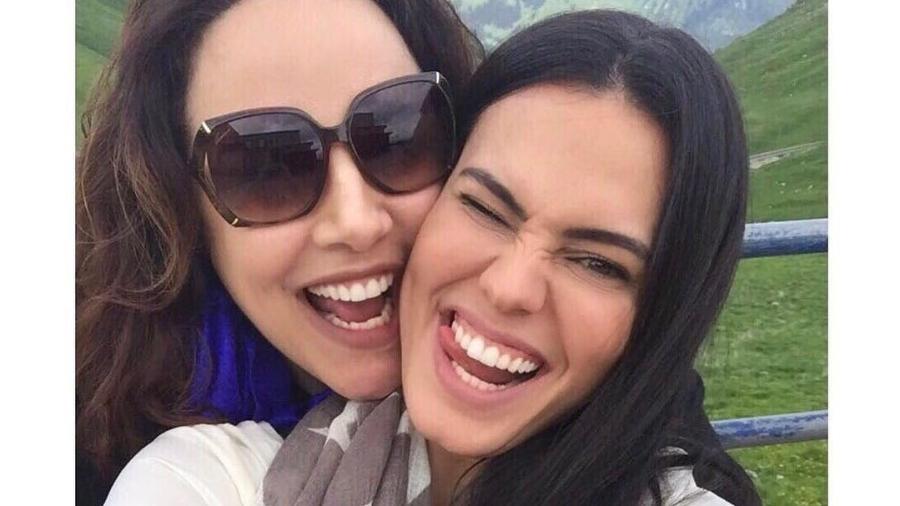 Ana Carolina e a namorada Leticia Lima - Reprodução/Instagram