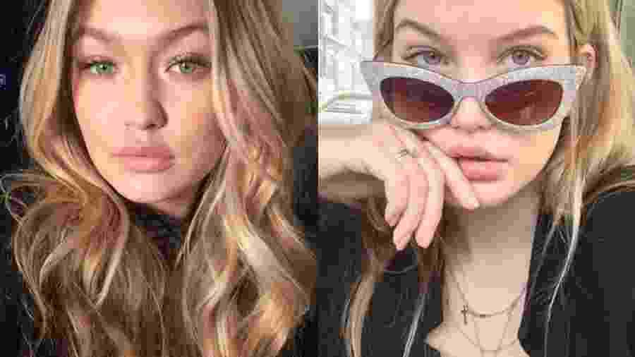 Conheça a modelo holandesa idêntica à Gigi Hadid - Reprodução/Instagram