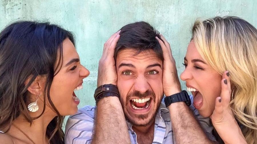 Isis Valverde, Marco Pigossi e Paolla Oliveira - Reprodução/Instagram