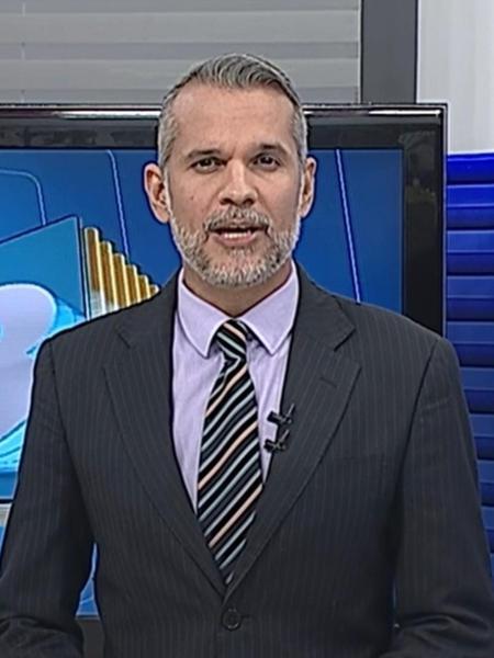 Alexandre Farias foi atingido na cabeça por uma bala perdida - Reprodução/TV Globo