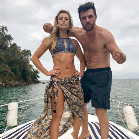 Paolla Oliveira e Rodrigo Lombardi - Reprodução/Instagram