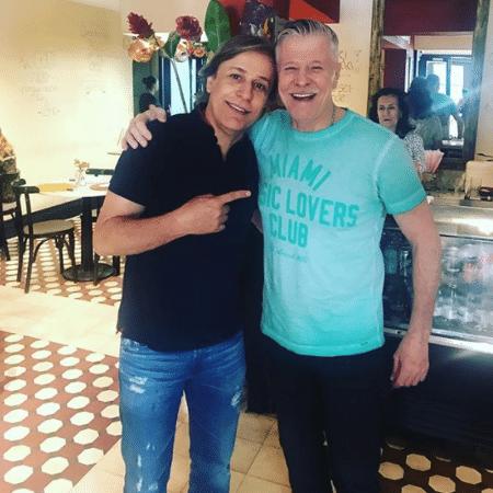 Tom Cavalcante e Miguel Falabella - Reprodução/Instagram/tomcavalcante