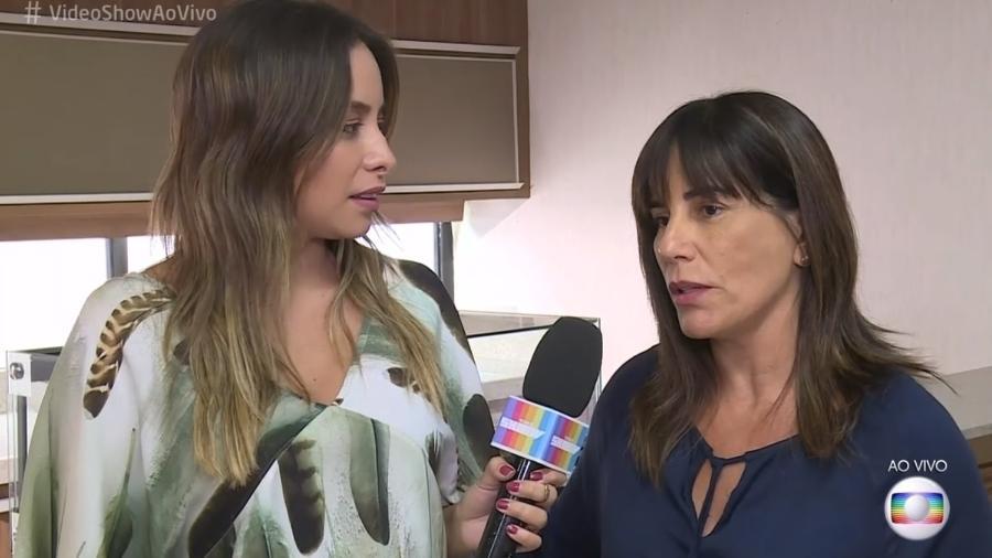 """Gloria Pires participa do """"Vídeo Show"""" - Reprodução/Globo"""