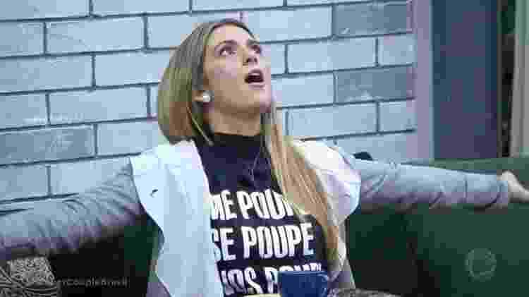 Nadja Pessoa no Power Couple Brasil - Reprodução/TV Record