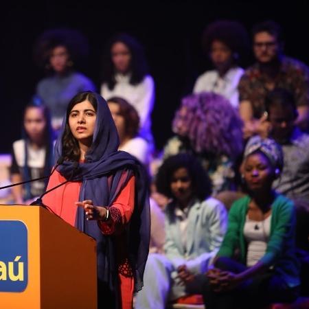 Malala em evento em São Paulo - Divulgação