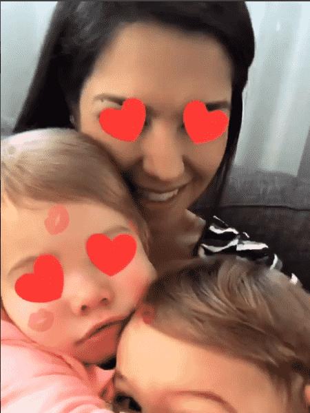 Thais Fersoza mostra carinho entre os filhos Melinda e Teodoro - Reprodução/Instagram