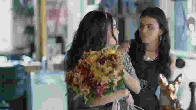 """Carol Macedo e Talita Younan como K2 e K1 em """"Malhação: Viva a Diferença"""" - Reprodução/Globo - Reprodução/Globo"""