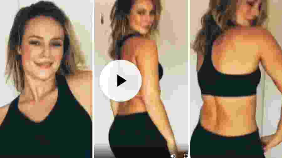 Paolla Oliveira dançando - Reprodução/Instagram