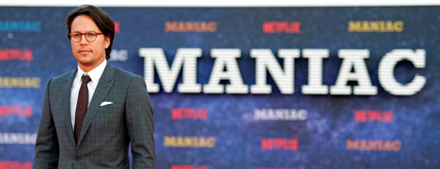 """Cary Fukunaga na pré-estreia de """"Maniac"""", da Netflix -  REUTERS/Eddie Keogh"""