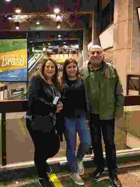Família do Kaysar chegou em Guarulhos (SP) - Reprodução/Instagram