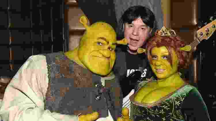 Tom Kaulitz, Mike Myers e Heidi Klum em festa de Halloween - Craig Barritt/Getty Images - Craig Barritt/Getty Images