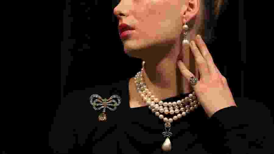 As joias da rainha francesa Maria Antonieta vão à leilão em Genebra - AFP
