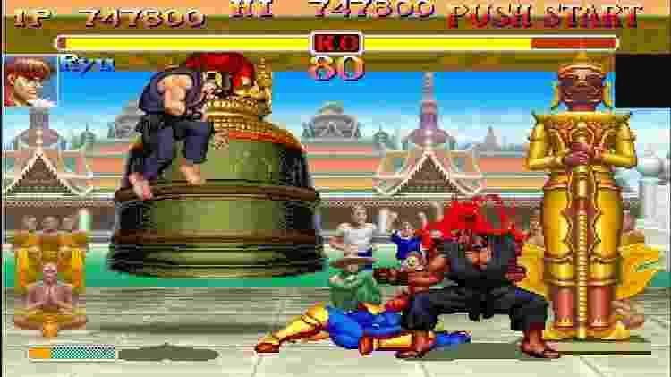 Street Fighter - Reprodução - Reprodução