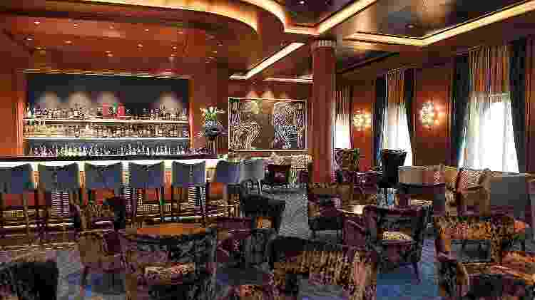 O Explorer está repleto de ambientes luxuosos, acessíveis a turistas com a banca bancária cheia - Divulgação/Regent Seven Seas