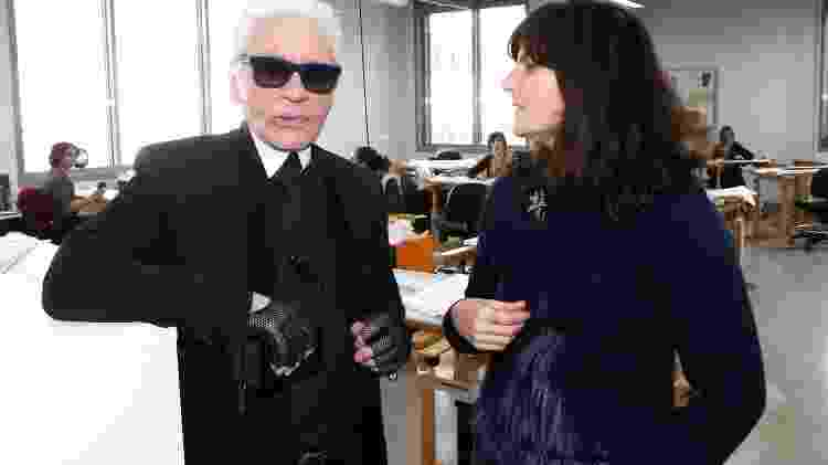 Karl Lagerfeld e Virginie Viard - Getty Images - Getty Images