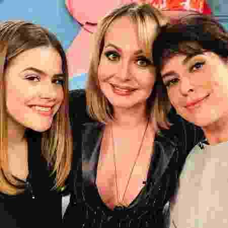 Maisa e suas convidadas, Gabriela Spanic e Fernanda Paes Leme - Instagram