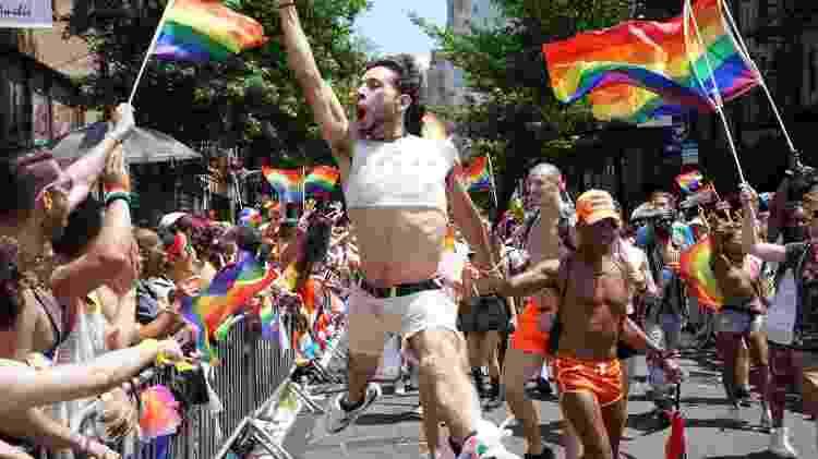 Parada do Orgulho Gay em Nova York - AFP - AFP