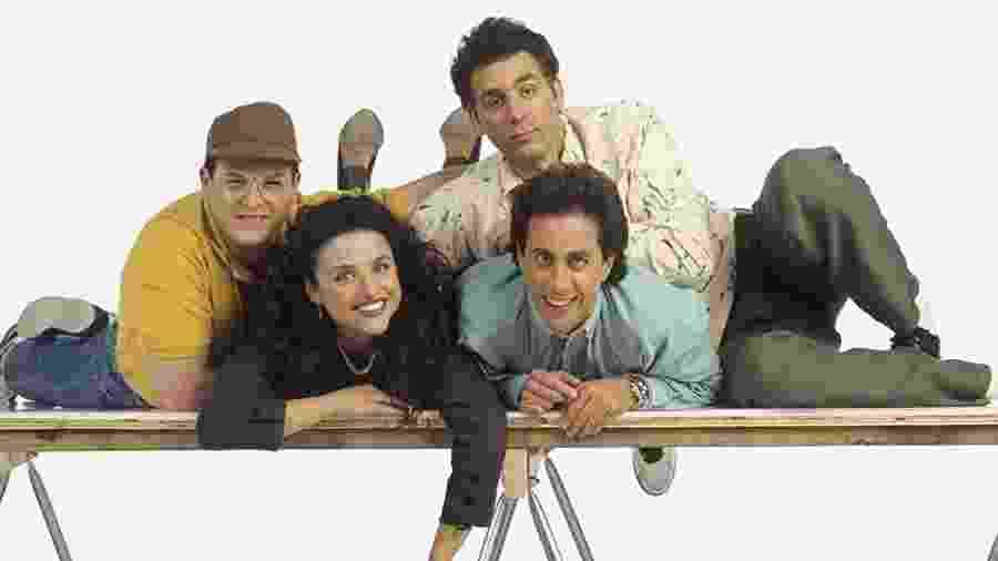 O elenco de Seinfeld - Divulgação