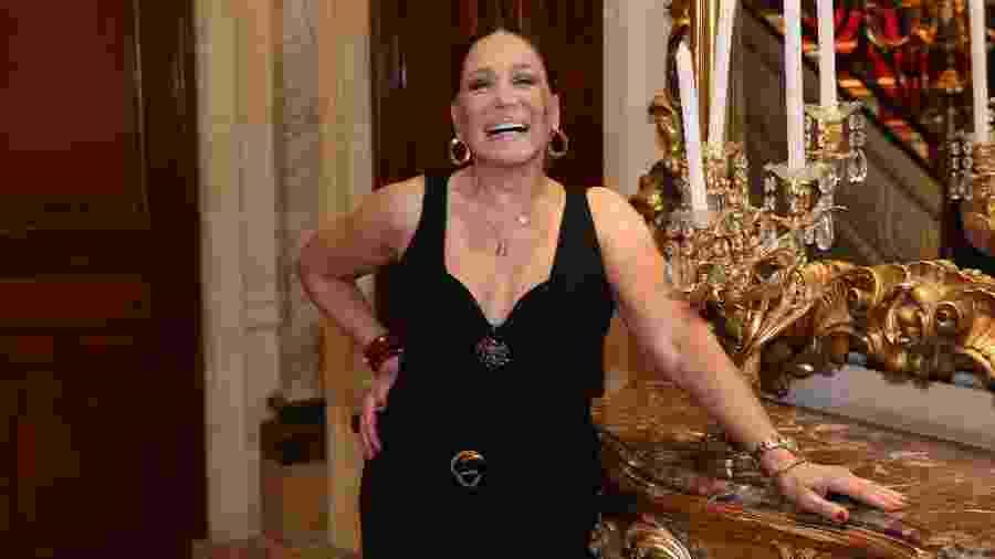 A atriz Suzana Vieira durante lançamento da novela Éramos Seis - ROBERTO FILHO / BRAZIL NEWS