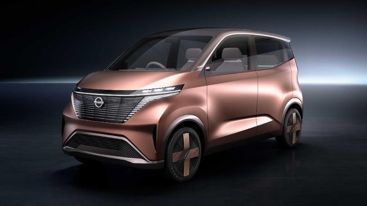 IMk é um estudo da Nissan de carro superurbano - Divulgação