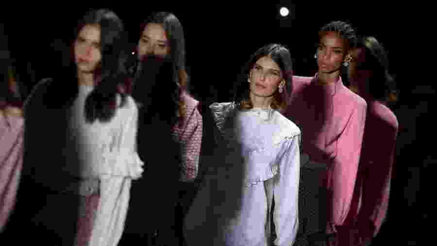 Desfile da Lilly Sarti na 48ª edição da São Paulo Fashion Week - Francisco Cepeda/AgNews