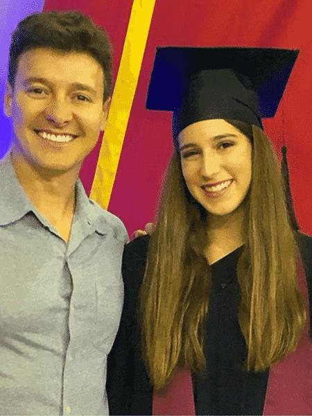 Rodrigo Faro e a filha mais velha, Clara - Reprodução/Instagram