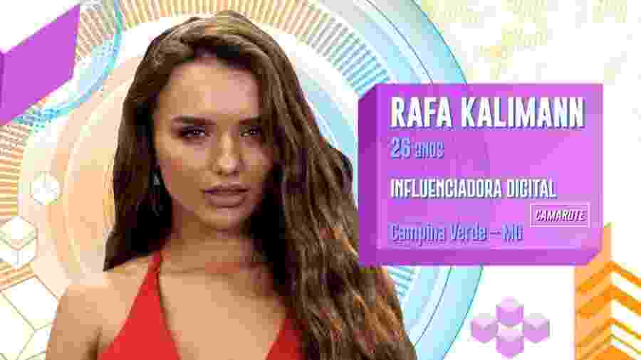 Rafa Kalimann tem mais de três milhões de seguidores no Instagram e é madrinha do Hospital do Câncer de Goiás - Divulgação/TV Globo