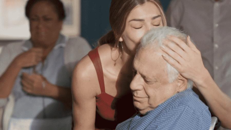 Paloma e Alberto - Reprodução/Globoplay
