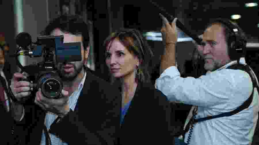 """Petra Costa nos bastidores de """"Democracia em Vertigem"""" - Divulgação"""