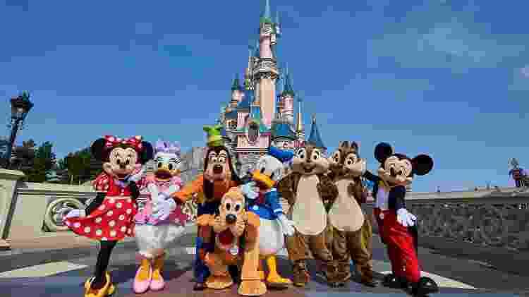Castelo da Bela Adormecida, na Disneyland Paris - Divulgação