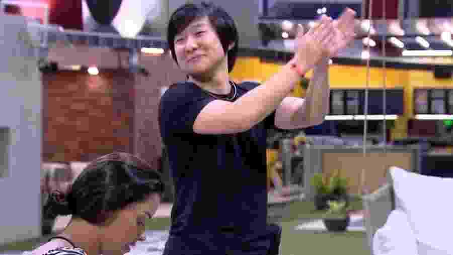BBB 20: Pyong fala do paredão - Reprodução/Globo